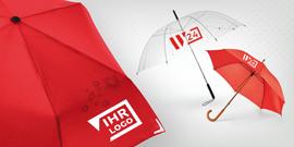 Regenschirme lassen